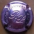 Capsule de champagne Roger Pouillon rosé.jpg