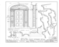 Captain Alexander Marshall House, Auburn-Aureling Road, Auburn, Cayuga County, NY HABS NY,6-AUB.V,2- (sheet 10 of 10).png