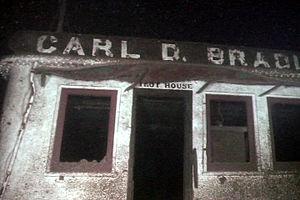 SS Carl D. Bradley - Image: Card D Bradley Pilot house door