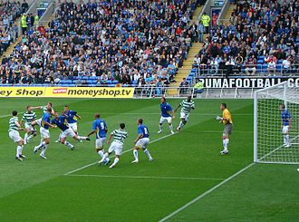 Cardiff City Stadium - The official opening match between Cardiff City and Celtic on 22 July 2009