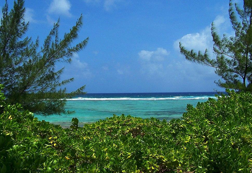 Caribbean Ocean view from Bodden Town