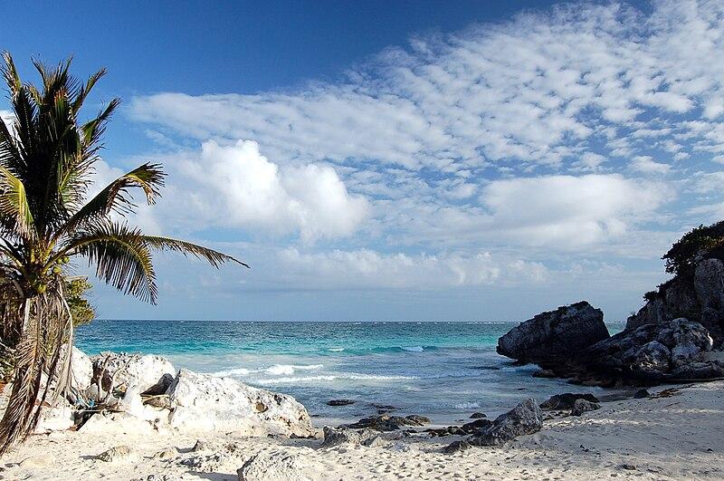 File:Caribbean near Tulum.jpg