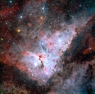 Nebula - The Carina Nebula is a diffuse nebula