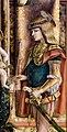 Carlo crivelli, madonna della rondine, post 1490, da s. francesco a matelica, 06 giorgio.jpg