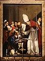 Carlo saraceni, san bennone riceve da un pescatore le chiavi della cattedrale di meissen, 1618.jpg