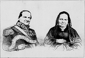 Carlos Antonio López - Carlos Antonio López and his wife, Juana Pabla Carrillo.