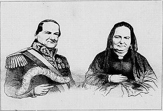 Carlos Antonio López - Carlos Antonio López and his wife, Juana Pabla Carrillo.