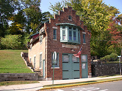 Former firehouse, now home of the Carlstadt Historical Society