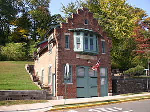 Carlstadt, New Jersey - Former firehouse, now home of the Carlstadt Historical Society
