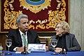 Carmena entrega la Llave de Oro de la ciudad al presidente de Ecuador 05.jpg