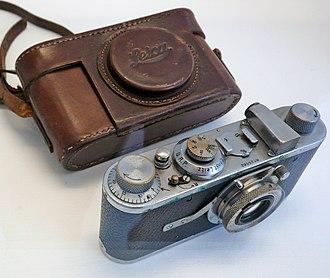 Henri Cartier-Bresson - Cartier-Bresson's first Leica