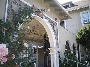 Casa de Rosas - Front entrance of Casa de Rosas