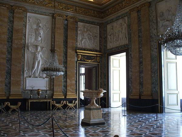Italian neoclassical interior design for Interior design wikipedia