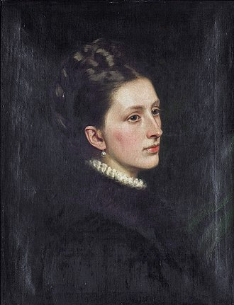 William Leveson-Gower, 4th Earl Granville - Image: Castalia Rosalind, Countess Granville (1847 1938), by circle of Charles Edward Perugini