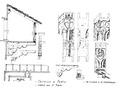 Castello di Fenis, lobbia del 2o piano, da schizzo d'andrade, fig 155, disegno Nigra.tiff