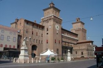 Torquato Tasso - Castello degli Estensi, Ferrara.