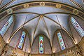 Castelnau-d'Estrétefonds Eglise - Le Plafond du choeur.jpg