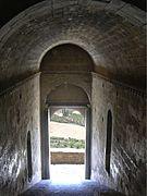 Castillo de Loarre - Entrada desde arriba - Retrabajado.jpg