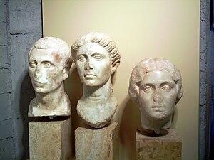 Mataró Museum -  Roman sculptures at Mataró Museum
