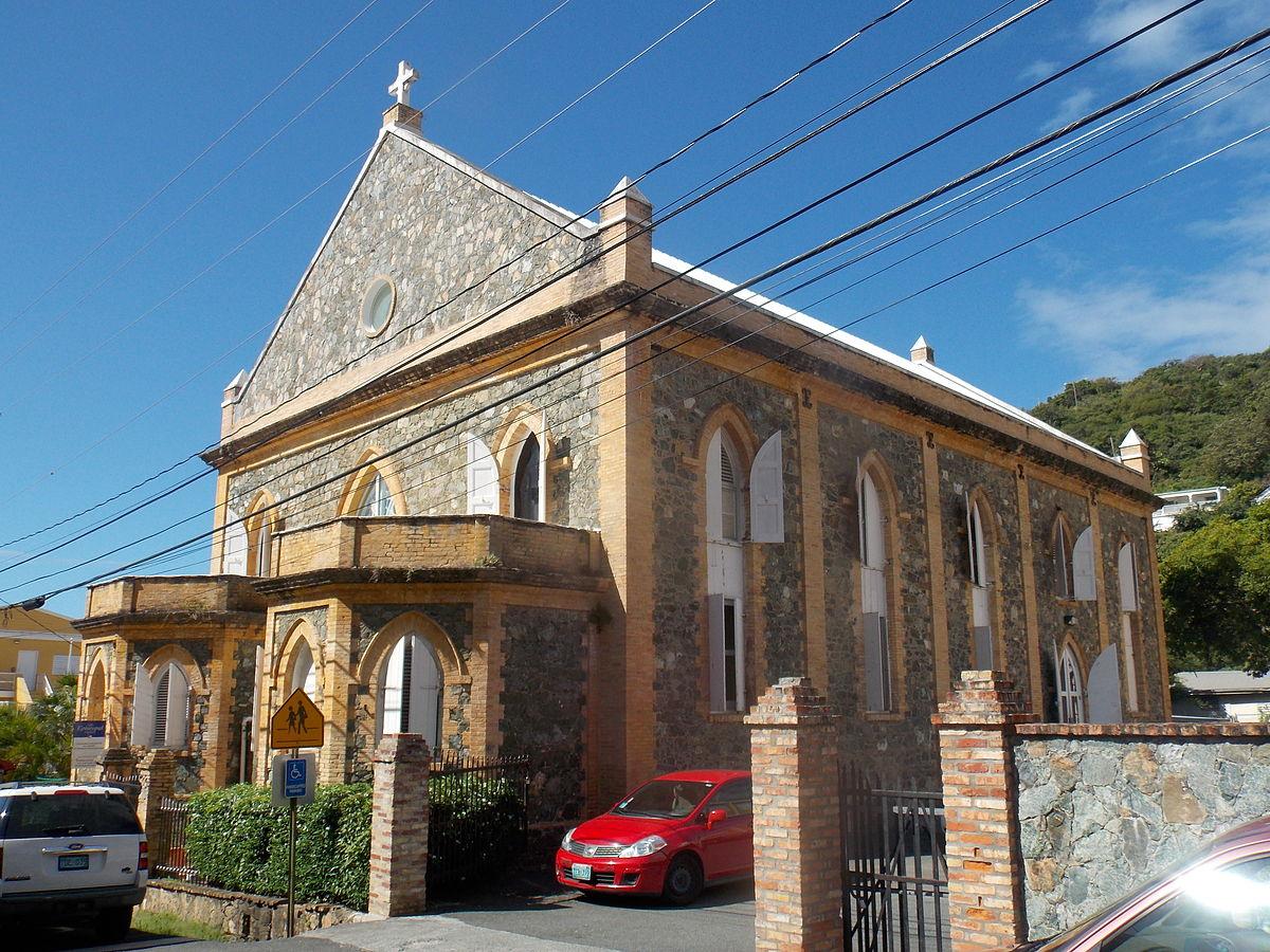 islands churches Virgin