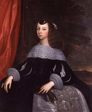 Catherine of Braganza - Infanta Catherine of Portugal by Dirk Stoop, 1660–1661