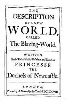margaret cavendish blazing world essay