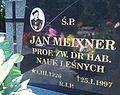Cemetery Poznan Szczawnicka (Jan Meixner tomb).jpg