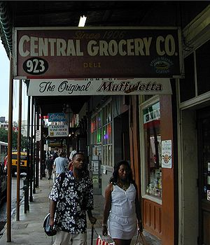 Italians in New Orleans - Image: Central Grocery