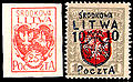 Centrallithuania1920stamps.jpg