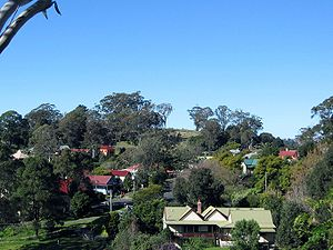 Tilba, New South Wales - A view of Central Tilba