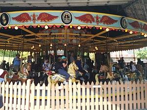 Centreville Amusement Park - Image: Centreville Carousel