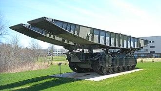 CFB Gagetown - A Centurion Bridgelayer, CFB Gagetown