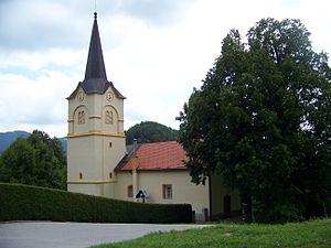 Marija Reka - Image: Cerkev Marije Vnebovzete, Marija Reka