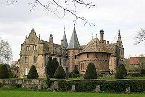 Château d'Osthoffen - Image: Ch.osthoffen gene