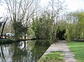 Channel diverting water from the Cam - geograph.org.uk - 783000.jpg