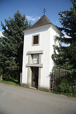 Chapel in Nové Sady, Žďár nad Sázavou District.JPG