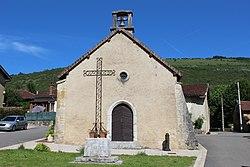 Chapelle St Sébastien Chevignat Courmangoux 2.jpg
