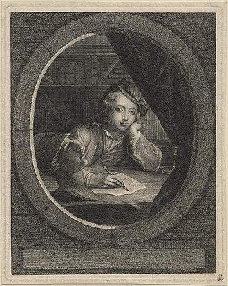 Nicolas-Henri Tardieu - Image: Charles Antoine Coypel by Nicolas Tardieu