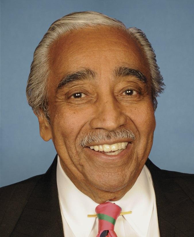 Charles B Rangel Portrait