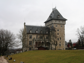 The Château of Villy, in Contamine-sur-Arve