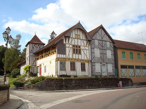 Photo - Maison à pans de bois