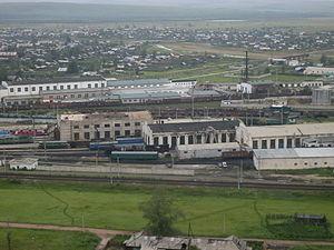 Chernyshevsky District - Chernyshevsk rail yard, Chernyshevsky District
