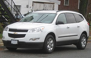 2009-2010 Chevrolet Traverse LS photographed i...