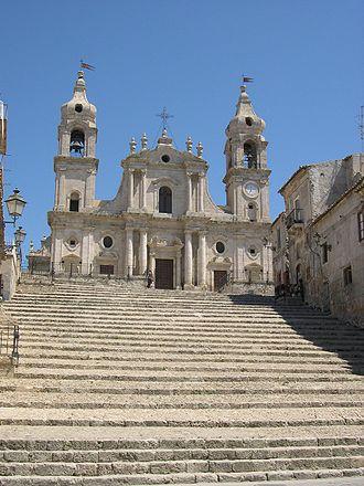 Palma di Montechiaro - The Mother Church in Palma di Montechiaro.