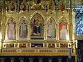Chiesa di santa croce, pala centrale, taddeo gaddi o giotto.JPG