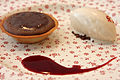 Chikalicious chocolate tart, April 2009.jpg