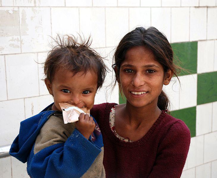 Datei:Children in India 1.jpg