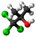 Chlorobutanol 3D ball.png