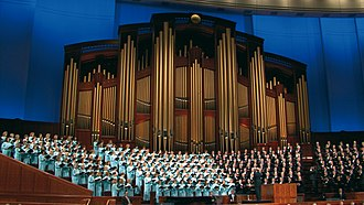 General Conference (LDS Church) - Image: Choir CC 1