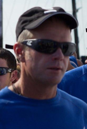 Chris Nicholson (sailor) - Chris Nicholson at the Volvo Ocean Race 2014.